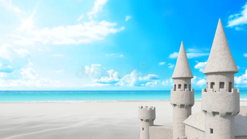 I then Build a Sandcastle, because it's a Beach, and that's Cool.